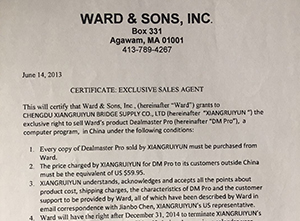 WARD&SONS,INC.